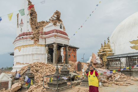 Amid Nepal's shattered shrines and temples, a religious fatalism sets in - Religion News Service | Christian Studies Resources | Scoop.it