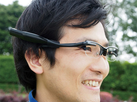 Olympus Corporation has developed the (Meg 4.0) ultra-compact wearable display prototype | #Innovation | Scoop.it