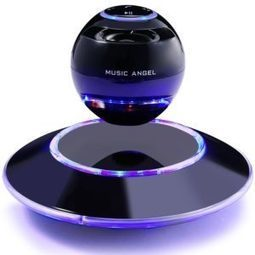 MUSIC ANGEL Levitating Portable Wireless Bluetooth Speakers Multicolor LED Floating Levitation Speaker with Microphone Review | Gadgets and Tech | Scoop.it