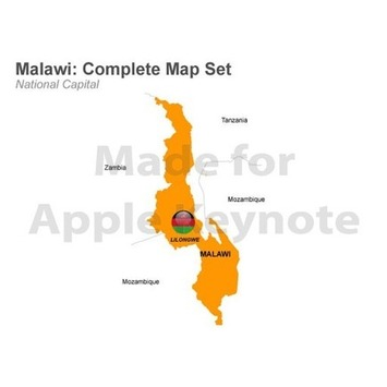 Malawi Map - Editable Keynote Map | MAPS  Ideas, Examples, Resources | Scoop.it