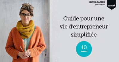 Infographie : Guide pour une vie d'entrepreneur simplifiée | Les nouveaux entrepreneurs | Scoop.it