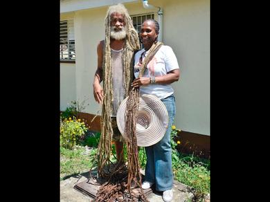 Rastafarian shows off 10-foot dreadlocks - Jamaica Gleaner | dreadlocks | Scoop.it