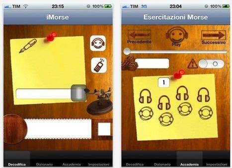 iMorse l'app che consente di generare codici Morse con il tuo iPhone   MY iOS App Review   Scoop.it