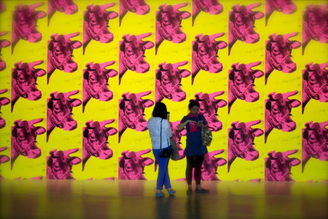 Tribute to Andy Warhol | oriental journey blog | Scoop.it