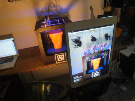 What happens when you combine 3D printing and augmented reality? Magic | Edu-Recursos 2.0 | Scoop.it