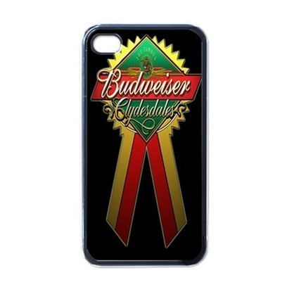 iPhone Case - Budweiser Glydesdales Beer Logo - iPhone 4 Case Cover | Merchanstore - Accessories on ArtFire | Custom iPhone 4 or 4S Case Cover | Scoop.it