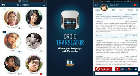 Droid Translator Performs Live Translation of Skype and Mobile Calls and Chats | Embedded Systems News | Scoop.it