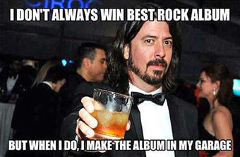 Dave Grohl Doesn't  Like A Thirsty Fan, And You Shouldn't Either   Radio In The Social Digital Space   Scoop.it
