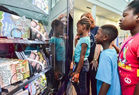 Vending machines in Anacostia provide free children's books | Daring Ed Tech | Scoop.it