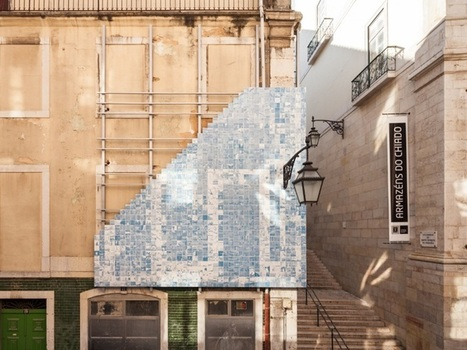 Lisbon Triennale 2013: 'Horror Vacui' project | Facciate, facades, vertical green wall, colorful facades, wall street art, facades led media light, projection  mapping | Scoop.it