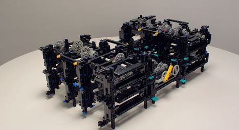 Watch an Apple Engineer Recreate a 2,000-Year-Old Computer Using Legos   Heron   Scoop.it