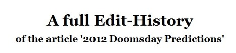 Edit-History | Noticias, Recursos y Contenidos sobre Aprendizaje | Scoop.it