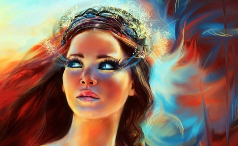 Fan Art: Katniss during 'Catching Fire' tribute parade | All things YA - Books, Publishing, Writing, Blogging, Reviews | Scoop.it
