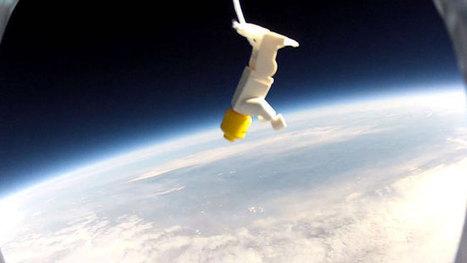 Des images saisissantes de la Terre prises par des bonhommes Lego - Canoë   Lego is not a game... not only   Scoop.it