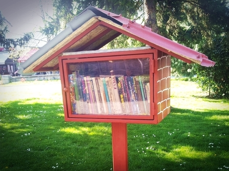 Nice idea in a Bulgarian park. | Reading books | Scoop.it
