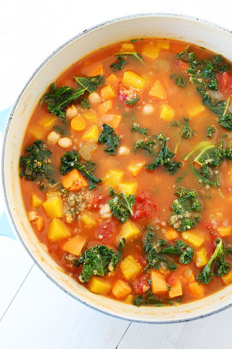 Fall Vegetable Quinoa Soup Recipe | Healthy Whole Foods | Scoop.it