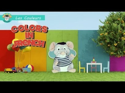 Ratounet - Colors in French - YouTube | Learn French online | Scoop.it