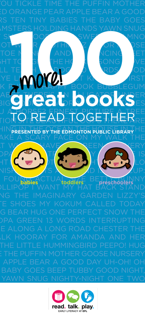 100 More Great Books to Read Together | LibraryLinks LiensBiblio | Scoop.it