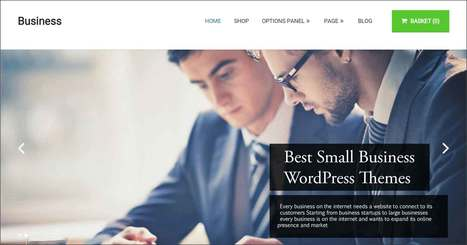 40+ Top Small Business WordPress Themes for Business Website | WordPress Theme | Scoop.it