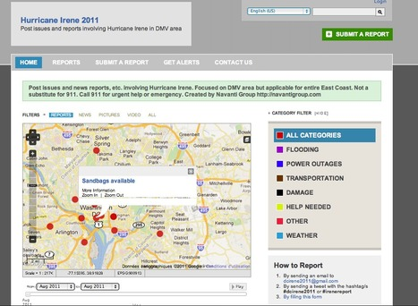 Hurricane Irene 2011 | Mapping NYC hurricane | Scoop.it