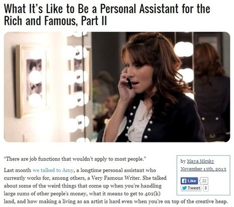 Lifestyle Concierge to the Rich and Famous: Do You Have What It Takes? | Sorted Personal Management | Scoop.it