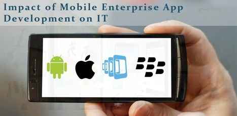 Why it Needs to Gear up to Keep Pace with Mobile Enterprise app Development | Mobile Development @Vrinsofts | Scoop.it