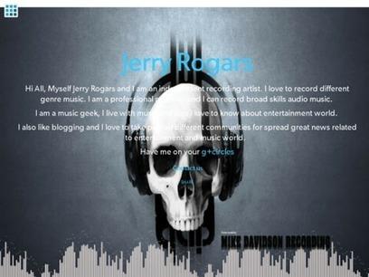 Jerry Rogars||Recording Artist||Professional Musician | Recording Studio | Scoop.it