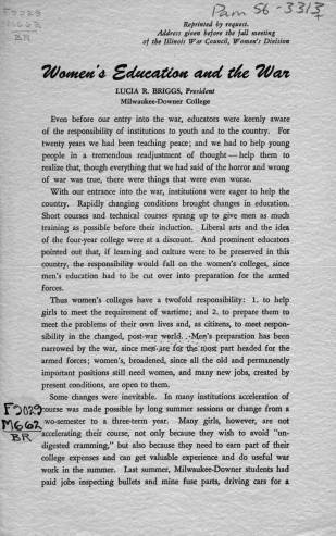 Document 3: Women's education   Womens in the Military during WW2   Scoop.it