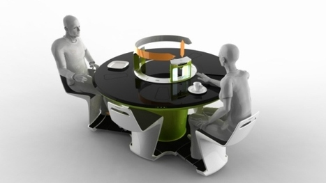Futuristic New Compact Kitchen by Petr Kubik | Architecture and Design Magazine | Scoop.it