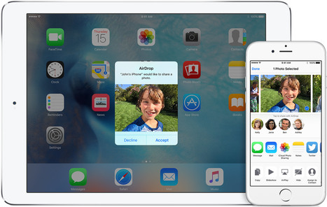Enable Airdrop Data Sharing Feature in iOS App | Mobile is all about apps | Scoop.it