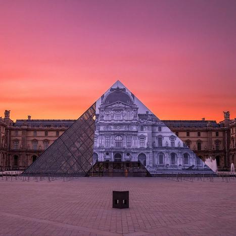 JR Makes Louvre Pyramid Disappear - artnet News | Museum & heritage news - Actualités & découvertes musées et patrimoine | Scoop.it