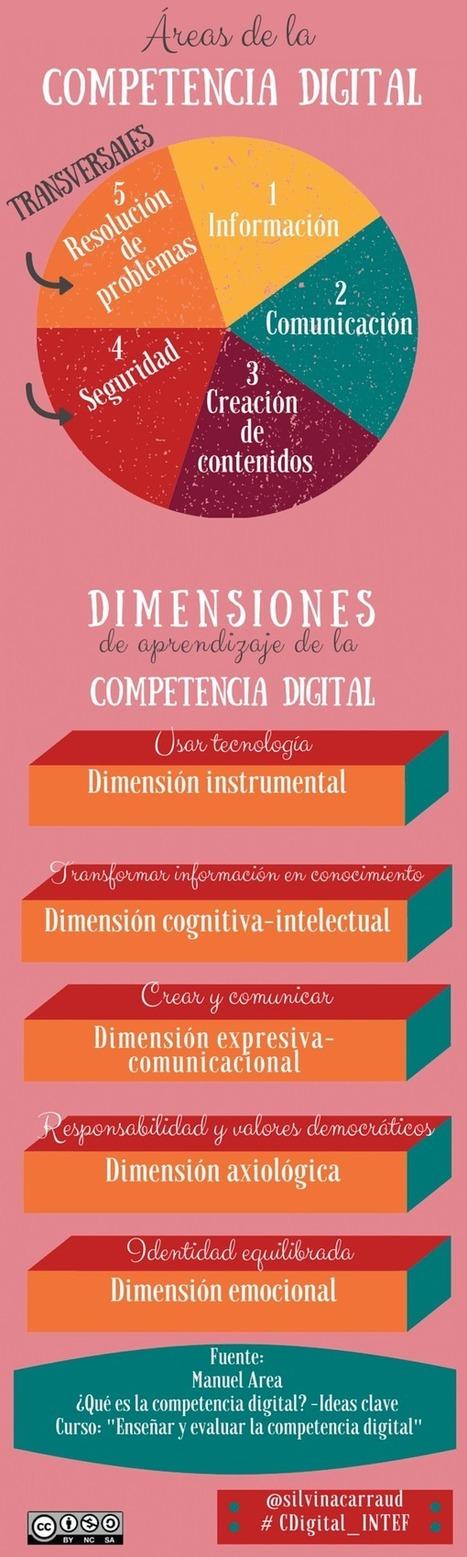 Áreas de la competencia digital #infografia | Estrategias de Gestión del Conocimiento e Innovación Educativa: | Scoop.it