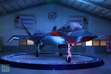Iran rolls out bold design for homemade fighter jets (VIDEO) | MN News Hound | Scoop.it