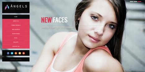 Angel, WordPress CMS Fashion Model Agency Theme | WP Download | model | Scoop.it