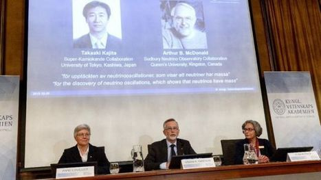 Nobel Prize for missing piece in neutrino mass puzzle - Yahoo News | Physics | Scoop.it