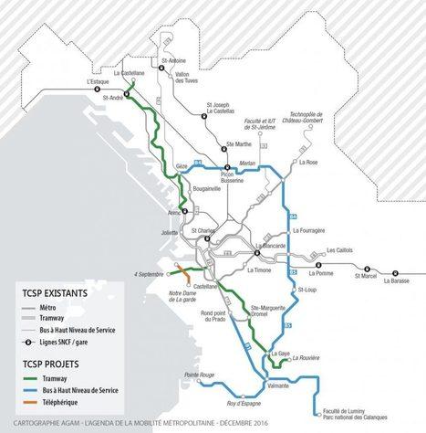 La Métropole dévoile ses projets de transports pour les 20 prochaines années | Made In Marseille | PnCal -revue de web | Scoop.it