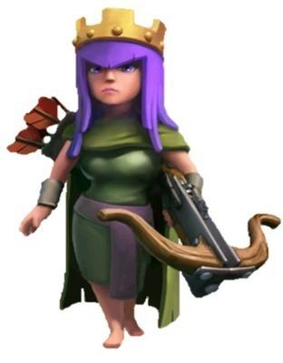 Archer Queen | Clash of Clans 99 | Scoop.it