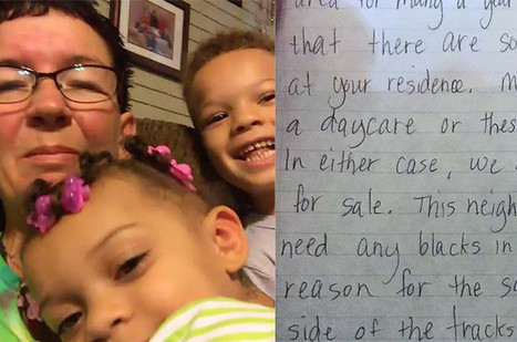 Grandma speaks out about racist letter that targeted her grandkids | Mixed American Life | Scoop.it