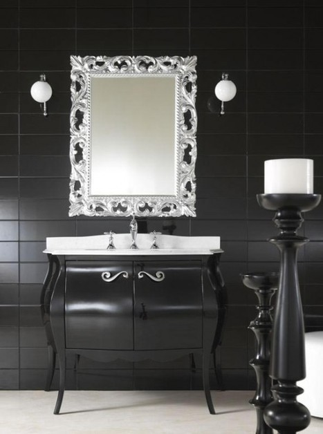 10 Uber Bathroom Vanities To Die For | 2015 interior design ideas | double sink vanities | Scoop.it