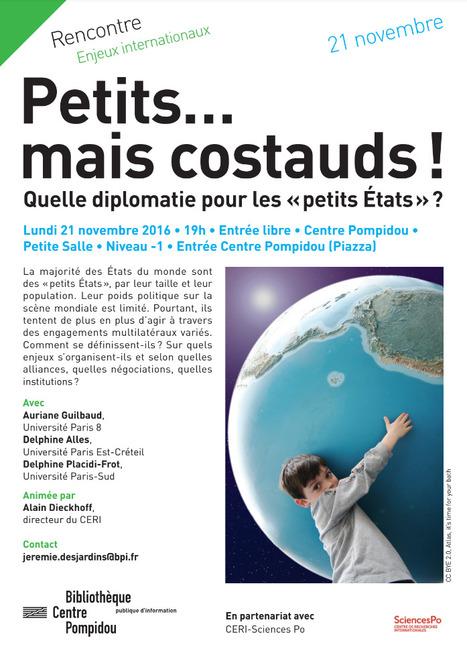 """""""Petits mais costauds !"""" Quelle diplomatie pour les petits Etats ?   DataViz   Scoop.it"""
