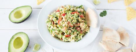 Smashed Chickpea Avocado Dip - Plant-Based Vegan Recipe | Vegan Food | Scoop.it