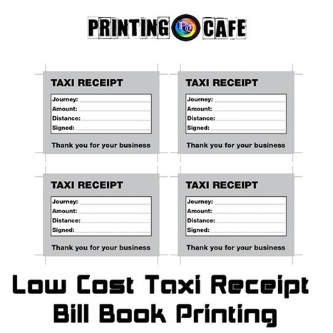 Taxi / Cab Fare Receipt Pads ,Bill books printing | Cheap Taxi Minicab Cards Printing uk | What you should know about receipt books form printing | Scoop.it