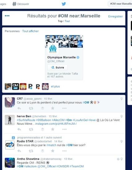 Twitter : les tweets par ville   Formation multimedia   Scoop.it
