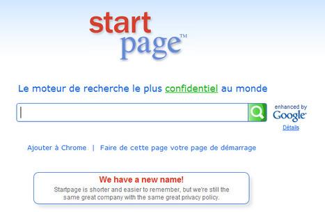 Startpage, moteur de recherche qui protège la vie privée | 694028 | Scoop.it
