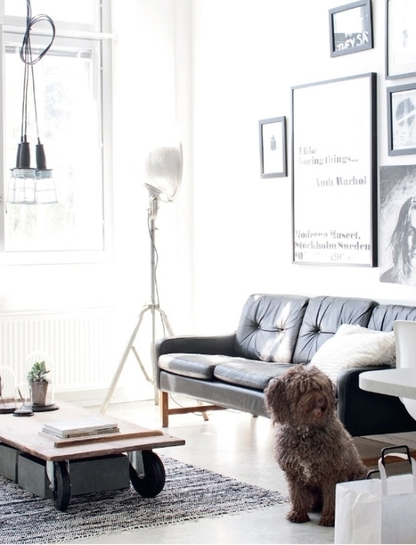 Un mini loft en Finlande | | PLANETE DECO a homes worldPLANETE DECO a homes world | décoration interieure | Scoop.it