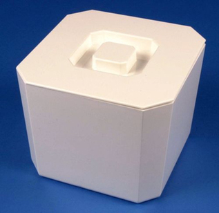 Ice Bucket - Square Plastic  - White - Ice Buckets | Home Bar Equipments UK | Scoop.it