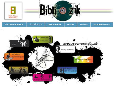 Naissance de Bibliozik ! le site Musique de la bibliothèque de Toulouse   Musique en bibliothèque   Scoop.it