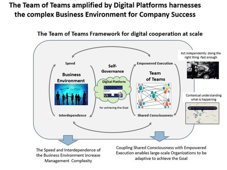 Digital Transformation: It`s a Team-of-Teams Business World | Social Business and Digital Transformation | Scoop.it