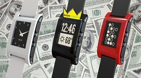 Most Successful Crowdfunding Campaigns of 2012: Pebble Smart Watch | Social Mercor | Scoop.it