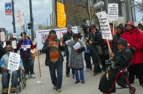 IS DETROIT'S FINANCIAL CRISIS CAUSED BY BANK FRAUD AND COURT COVER-UPS? GWEN MINGO COURT HEARING FRI. AUG. 22 9 AM | SocialAction2014 | Scoop.it